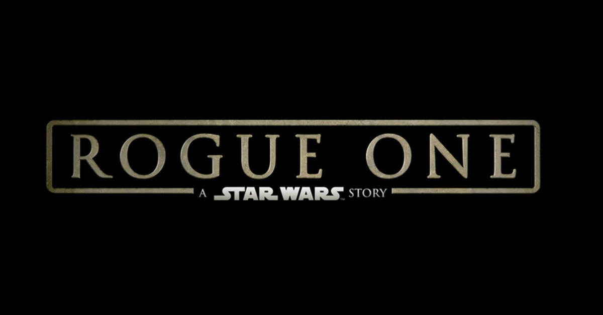 500 Words or Less Reviews: Rogue One: A Star Wars Story