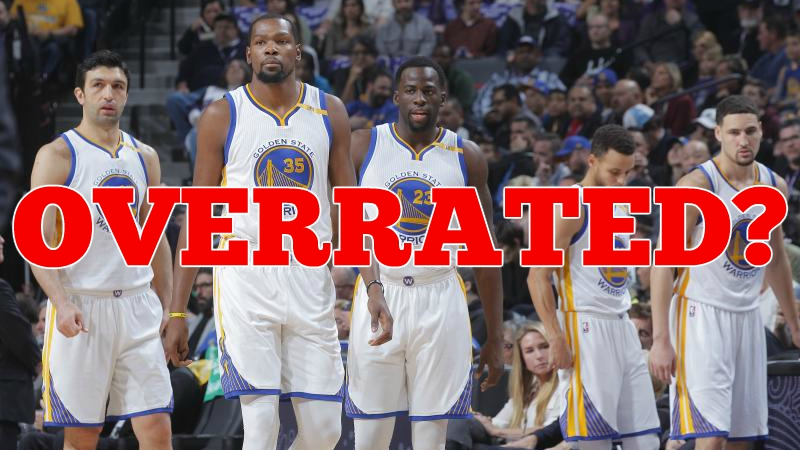 Fool's Gold: Are the Golden State Warriors the Most Overrated Team of All Time?