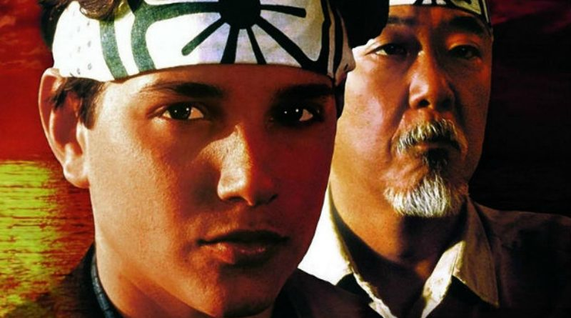 Karate Kid and Mr. Miyagi