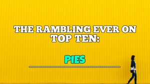 Top Ten Pies