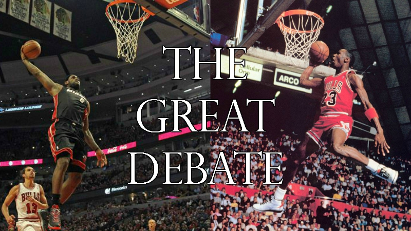 The Great Debate: Jordan vs. LeBron