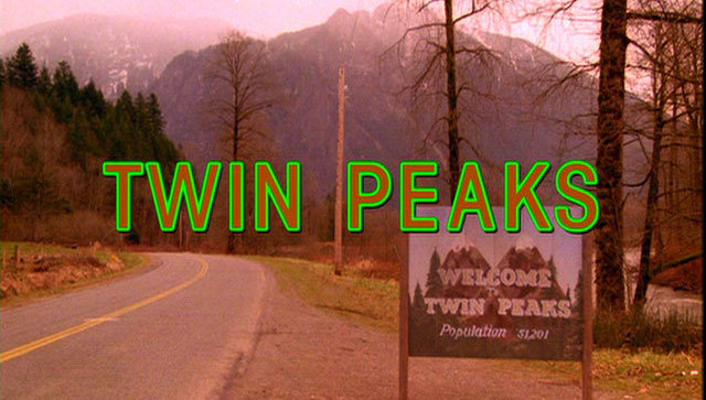 Twin Peaks opening credits image